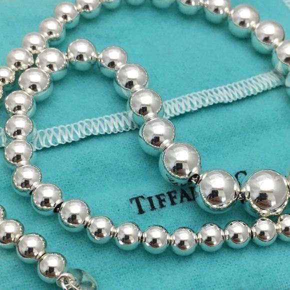 340418f81 Tiffany & Co. Jewelry | Tiffany Hardwear Graduated Ball Necklace ...